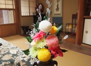 プリザ 仏花